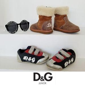 2 Pairs!!! D&G Junior Dolce & Gabbana Pairs